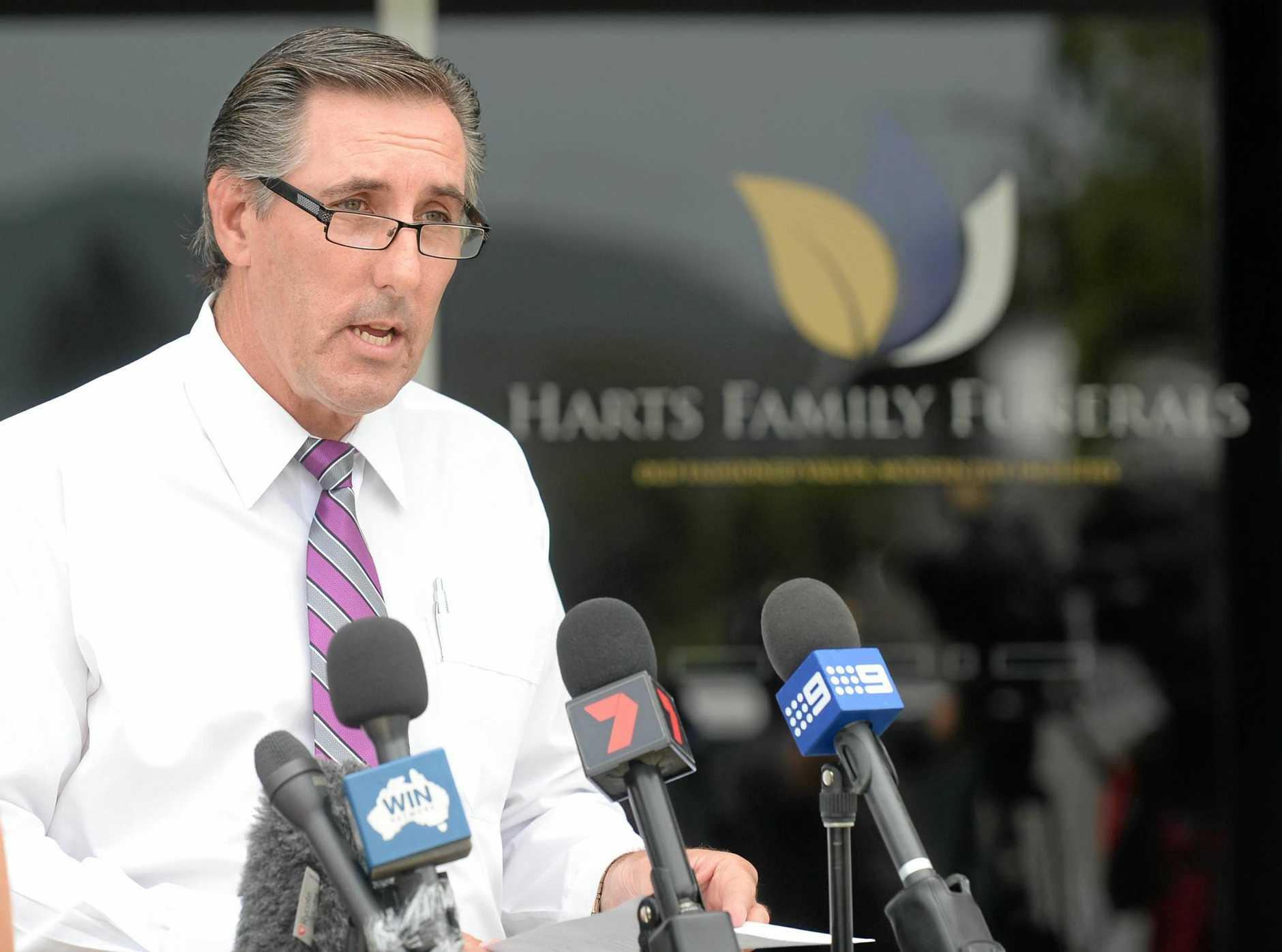 Tony Hart of Harts Family Funerals.