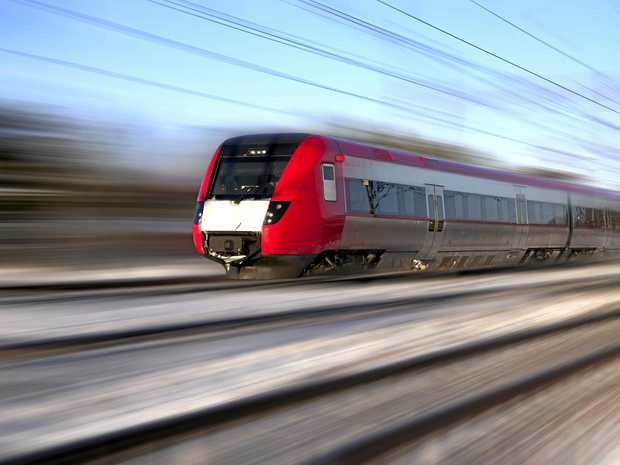 FILE PHOTO: High speed train.