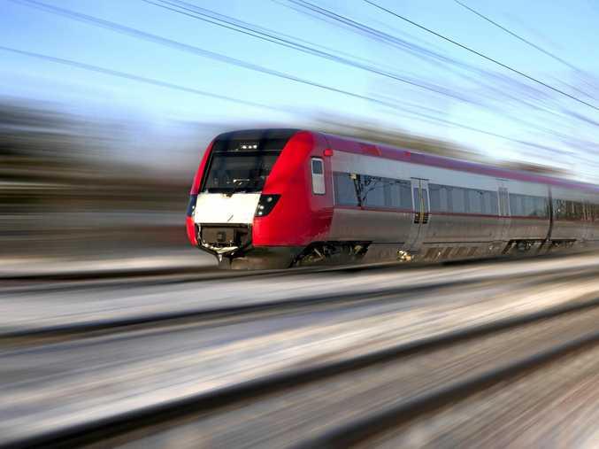 High speed train.