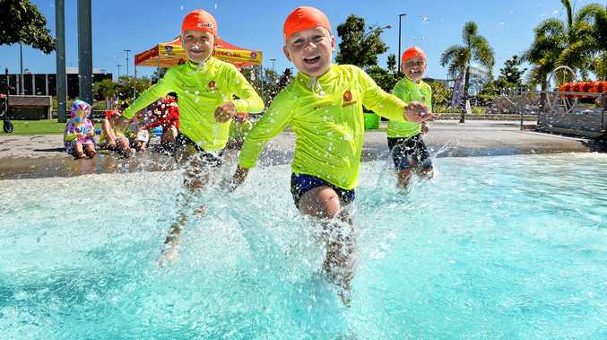 SAVED: A Little Lifesavers program has started at Orion Lagoon where kids like William O'Hara from Dinmore learn the basics of water safety.