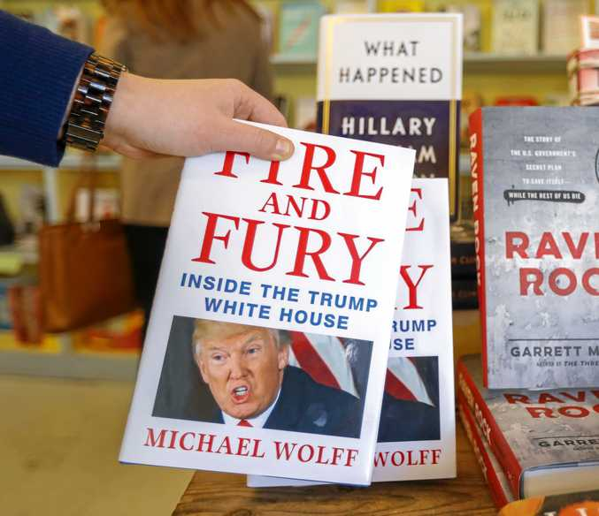 Michael Wolff's Fire and Fury, Inside the Trump White House will reportedly be made into a TV series.
