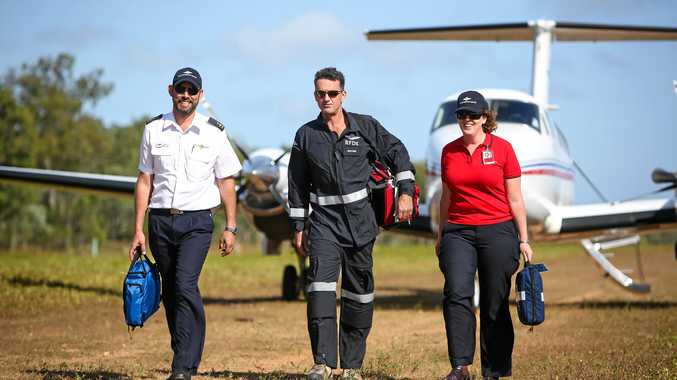 IMPORTANT: The Royal Flying Doctor Service is set to have a new transfer station at Gladstone Airport.