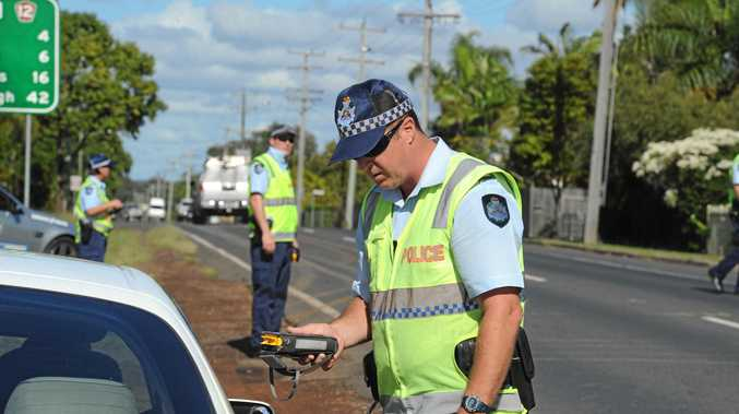 Police pulled the Mackay woman's car over near Tambo and found her 15-year-old son behind the wheel.
