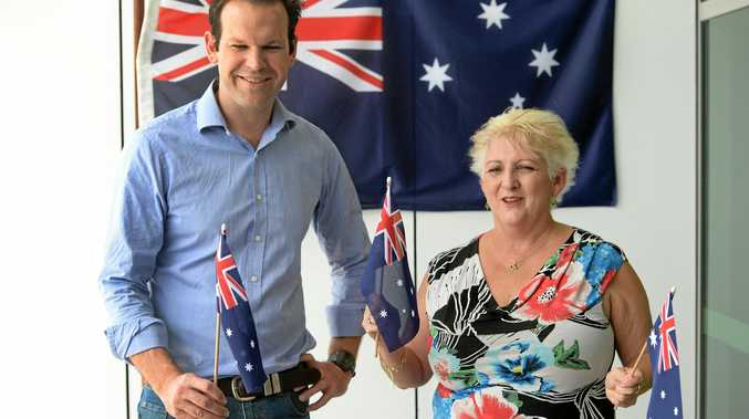 Senator Matt Cananvan and local member Michelle Landry support Australia Day being celebrated on the current day.