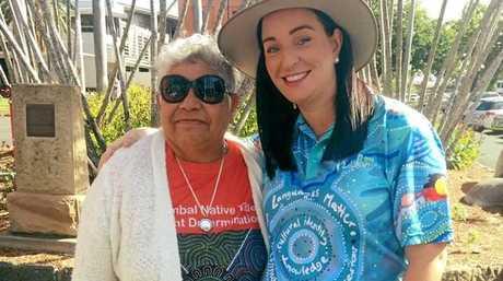 Aunty Nikki Hatfield and MP Brittany Lauga