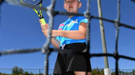 Poppy Loeskow won the ANZ Hot Shots competition yesterday.