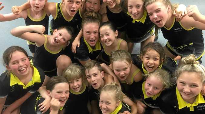 GET MOVING: Kingaroy Dance Academy dancers.