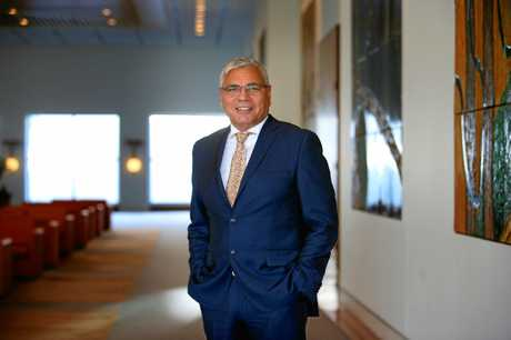 Warren Mundine at Parliament House in Canberra.