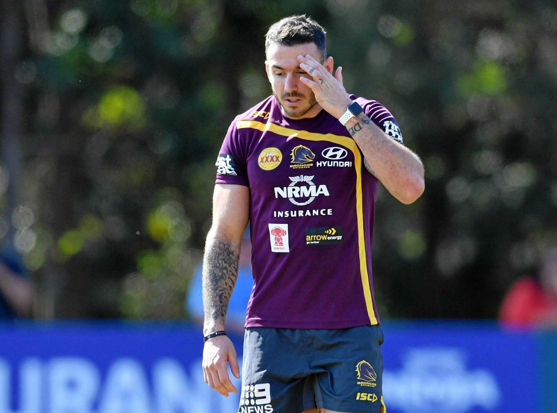 Darius Boyd is under an injury cloud after injuring his hamstring at training.