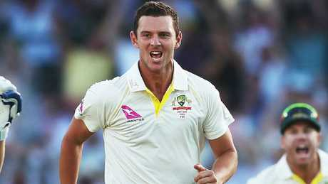 Josh Hazlewood has been rested after failing to overcome a virus. Picture: Phil Hillyard