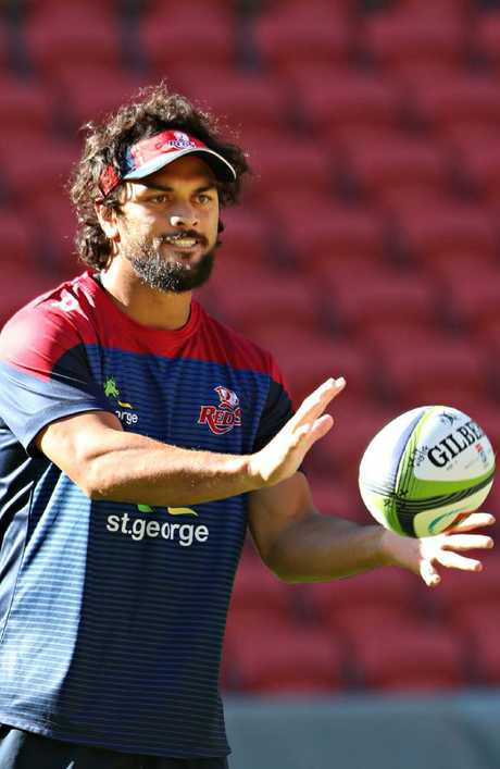 Lucas will help fill the hole left by playmakers Karmichael Hunt and Quade Cooper
