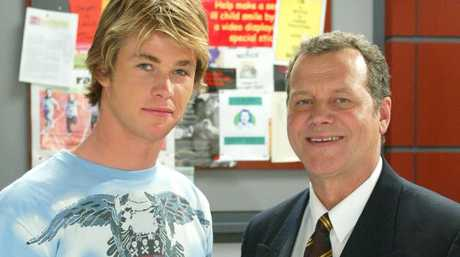 Chris Hemsworth as Kim Hyde in Home and Away. Picture: News Corp Australia