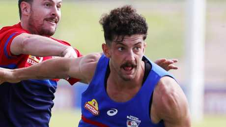 Tom Liberatore at Western Bulldogs training. Pic: Michael Klein