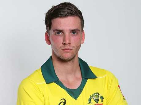 Jhye Richardson will make his ODI debut at the Gabba.