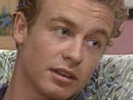 Simon Baker went from Home and Away to The Mentalist. Picture: Supplied