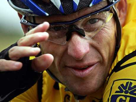 Lance Armstrong's cycling fame and fortune is in tatters.