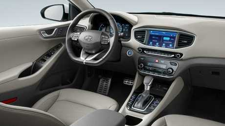 It's warm inside: The four-cylinder petrol engine runs to heat the cabin.