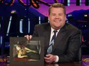 James Corden falls in love with sexy Aussie kangaroo