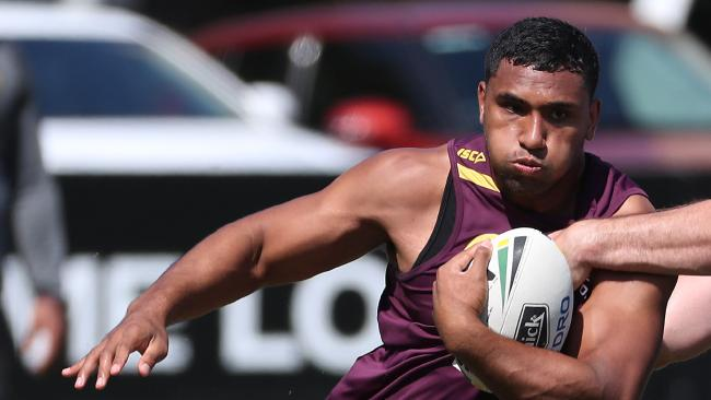 Tevita Pangai Jr, who is under investigation by police for an alleged assault.