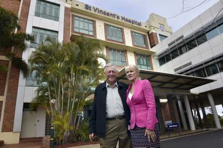 St Vincent's Hospital announce a $30 million theatre redevelopment funded in part from donations from Clive Berghofer in June 2016.