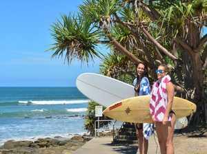 Iesha Jackson and Tyrah Dunn are hoping for more surf