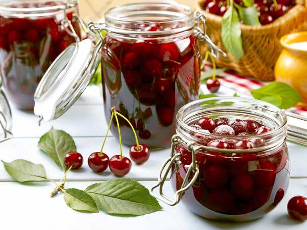 Cherry compote will keep for up to two weeks in the fridge.