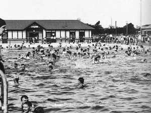 COOLING OFF: Dalby's Olympic Pool had tremendous patronage in the hot summer months.