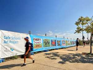 Student visual art helping keep community safe