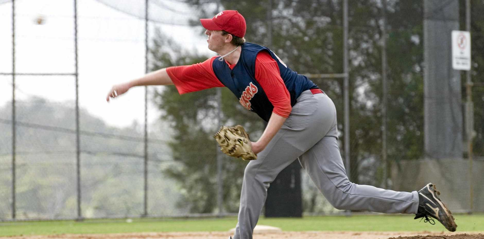 Toowoomba Rangers' pitcher Daniel Luchterhand faces his former West Bulldogs team-mates this weekend.