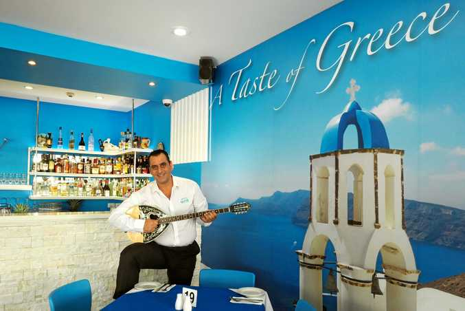Danny Papaioanou, who owns and manages Let's Do Greek and Adora Cafe, is set to open the doors of The Blue Sea Fish Bar in early February.