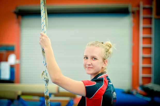 RECOGNITION: Gladstone Gymnastics Club coach Solenn Bardy won Acro Coach of the Year at the recent Gymnastics Queensland awards night.