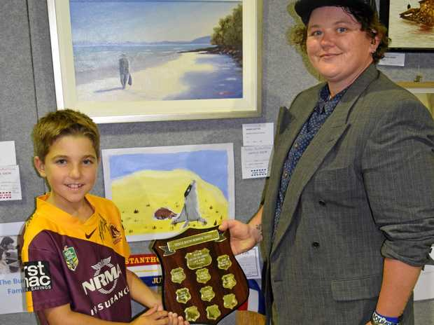 EXPANDING: The Fine Arts section of the Stanthorpe Show is set to grow this year.