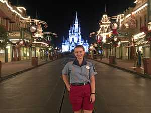 From Gympie to Disney World, she's found her dream
