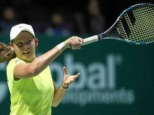 Megan smashes her way into Australian Open