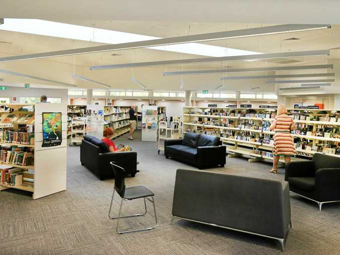 GRAB A BOOK: The newly renovated Tweed Heads public library is now open.
