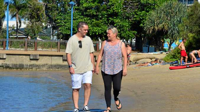 SURVIVOR: Josh Harrison, 20 has a long road of recovery ahead of him after he was in a horrific car crash last year. He is pictured here with Mum Deborah White.