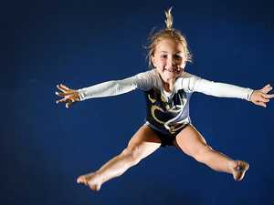 Wide Bay Gymnastics Club member Piper Dower,7, has been named in the Gymnastics Queensland Junior State Squad.
