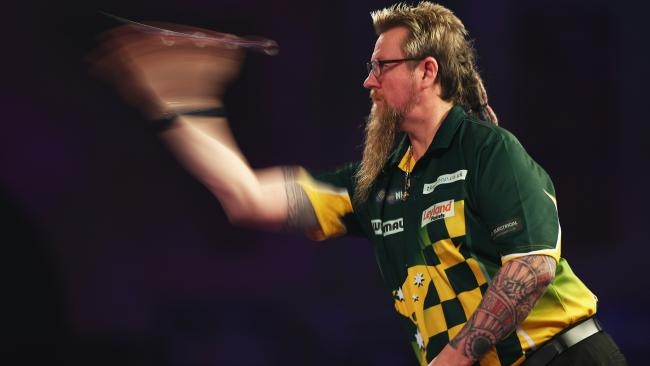 Simon Whitlock was in hot form on the Gold Coast on Thursday night.