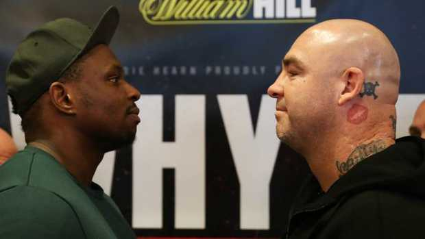 Dillian Whyte and Lucas Browne get it on in London on March 24.