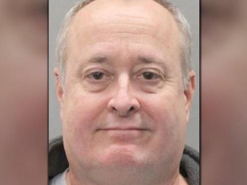American national Dale Bolinger was nicknamed the 'Canterbury Cannibal' for plotting to rape, behead and eat a 14-year-old girl while working in Britain as a nurse. Picture: Nebraska Sex Offender Registry