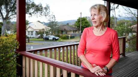 Judy Wilson was living next door when William Tyrrell vanished and helped in the search. Picture: Lindsay Moller.