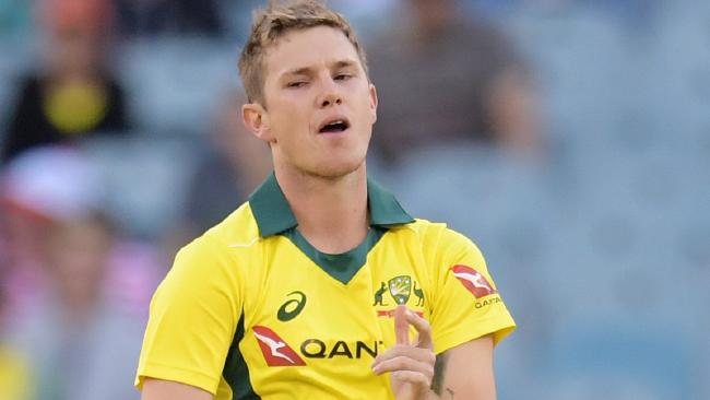 Adam Zampa had career-worst figures against the Poms at the MCG.