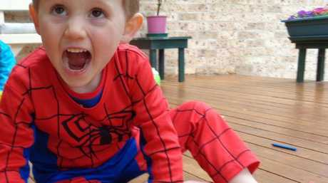 William Tyrrell in his iconic Spider-Man suit, which his real grandmother has revealed why she dislikes seeing he beloved grandson pictured in it.