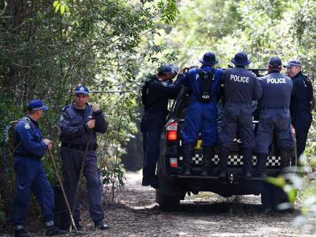 NSW Public Order and Riot Squad Police searching got William Tyrrell in 2015. Picture: Dan Himbrechts.