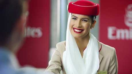 Emirates' new ad has a comedic take on the things passengers say and do in the hope of scoring an upgrade.