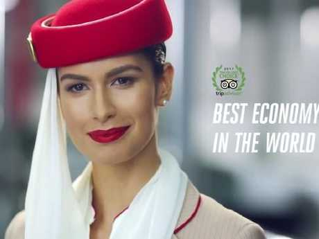 Emirates' new ad campaign lampoons passengers who ask for upgrades.