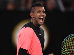 Kyrgios on song as Open dream stays alive