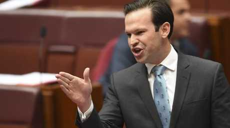 Australian Resource Minister Matt Canavan called the oversight incompetence. Picture: AAP Image/Lukas Coch