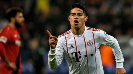 Colombian star James Rodriguez.