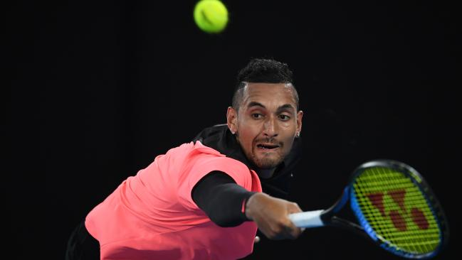Kyrgios was calm under pressure during two vital tie-breakers